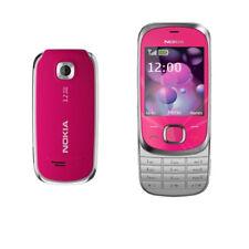 Red Original Nokia 7230 Slide Phone Bluetooth 3.15MP Unlocked Hebrew Keyboard