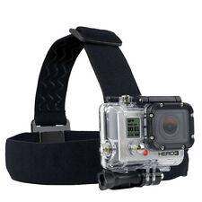 Harness Head Strap Mount Belt Elastic Headband for GoPro Hero 4 3+ 3 2 1 Camera