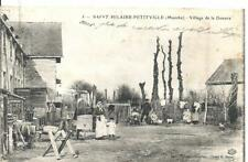 CPA Saint Hilaire - Petitville Carentan Village de la Douane
