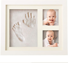 Baby Handprint and Footprint Kit Memory Art Picture Frames for Baby Registry