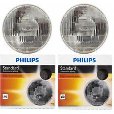 Philips High Low Beam Headlight Light Bulb for MG MGB Midget 1969-1981 - wm