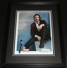 Adrien Brody 2012 Gillette Masters of Style 11x14 Framed ORIGINAL Advertisement