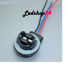 X1 Portalampada S25 3157 W21/5 12V x Auto Ricambio Compatibile Con Cablaggio **