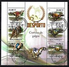 Chiens Mozambique (36) série complète de 6 timbres oblitérés