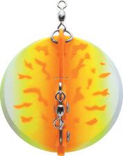 """NEW Luhr Jensen Dipsy Diver 3-1/8"""" Orange Fire UV 5560-000-1611"""