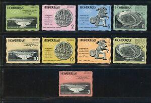 Honduras MNH Scott #C336-C344 Mexico City OLYMPICS Archaeology CV$12