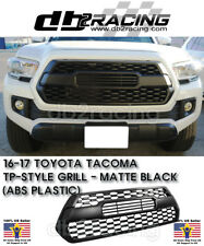 NEW TP-STYLE Front Grille (MATTE BLACK) Fits 16-17 Toyota Tacoma GRILL JDM