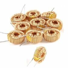 10Pcs Toroid Core Inductors Wire Wind Wound DIY mah--100uH 6A Coil P&T