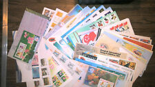 SINGAPORE FDC COLLECTION, ALL W/CACHET