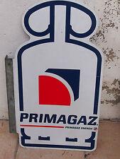 Plaque Publicitaire Primagaz double face , en bon état