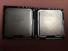 PAIR Intel Xeon E5540 SLBF6 2.53GHZ LGA1366 Quad Core 8 Threads CPU Processor