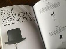 FRITZ HANSEN CATALOGUE Arne Jacobsen Poul Kjaerholm Danish Scandinavian Design