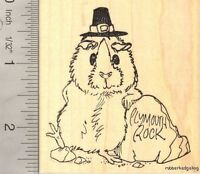 in Autumn Leaves G22601 WM West Highland White Terrier Dog Rubber Stamp