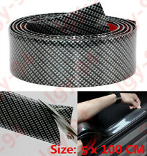 Carbon Fiber Graphic Anti-tread Protection Rubber Bar for Automobile 1M*5CM