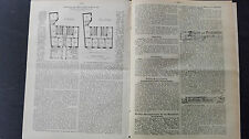 1900 Baugewerkszeitung 61 / Haus Hauß in Karlsruhe /
