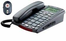 TÉLÉPHONE FIXE FILAIRE HI-TEL QUADRO PLUS + TÉLÉCOMMANDE ALARME