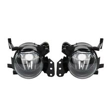 Pair Front Fog Lights Clear Lens Lampshade For E60 E90 E63 E46 323i 325i 525i