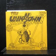 "The Unknown - Look For Me Babe 7"" VG+ M-103 Moxie USA Vinyl 33"