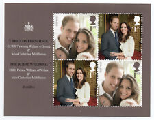 Gb 2011 Royal Engagement Issue Minisheet with 4 Values to £1.10 Mnh.(Gb056)