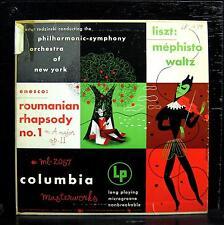 "RODZINSKI enesco & liszt 10"" VG+ ML 2057 CBS 1949 Mono US Alex Steinweiss Art"