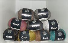 100g = 11,90€ Wolle Lana Grossa ROMA UNI DEGRADÈ Baumwolle 50g 105m LL
