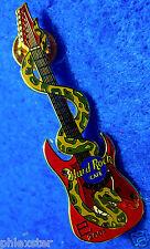 TOKYO JAPANESE 2001 ASIAN SNAKE GUITAR SERIES Hard Rock Cafe PIN LE