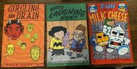 Evan Dorkin Lot - Milk & Cheese, Circling The Drain, Who's Laughing Now? TPB