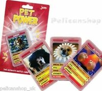 PET POWER TOP TRUMPS CARDS KIDS DOG CATS LOVERS FUN CARD GAME PACKS ACTIVITY
