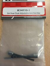 Kfactory G4 dual Rear roll bar K14110-1