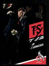 Toni Schumacher Autogrammkarte 1 FC Köln 2014-15 Original Signiert