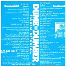 Dumb And Dumber Radio Special Soundtrack (CD, Promo)