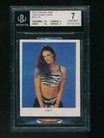 2001 Cardinal WWE WWF Lita BGS 7