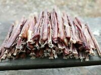 "Bully Sticks 6"" 100% Natural Beef Bully Sticks Dog Chews & Treats USA Sourced"