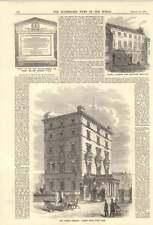 1858 l'ambassade de France Albert Gate Hyde Park duc de malakhoff Kendal Inst