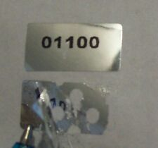 100 Warranty Void Security Tiny Tamper Evident Label Stickers Seals #'d
