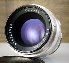 Legendario m42 lente Carl Zeiss Jena Biotar B 2/58 * 58mm f/2 * 10 Lamas