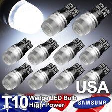 10X Yorkim 194 T10 Wedge Samsung High Power 1W White LED Lights Bulb 168 192 921