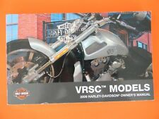 2009 Harley VRSC V-Rod Models Owner's Manual   Used   99736-09