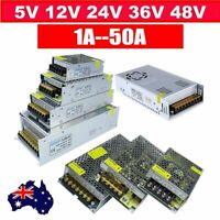 Power Supply Driver Transformer AC 220V to DC 5V 12V 24V 36V Regulate LED Light