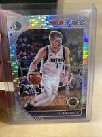 2019-20 NBA Hoops Premium Stock Luka Doncic Silver Pulsar Prizm Card #39