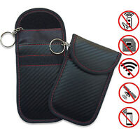 New Mobile Phone Car Key Shield Case Bag Card RFID Signal Blocker Anti-Radiation