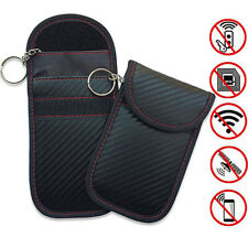 New Mobile Phone Car Key Card RFID Signal Blocker Anti-Radiation Shield Case Bag