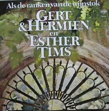 GERT & HERMIEN EN ESTHER TIMS - ALS DE RANKEN VAN DE WIJNSTOK - LP