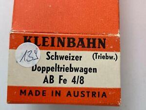 (139) Kleinbahn Schweizer Doppeltriebwagen Triebwagen AB Fe 4/8 OVP