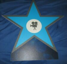 DIRECTORS STAR/CAMERA Universal Studios Theme Park Movie PROP Display SIGN