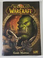 World Of WarCraft Game Manual PC