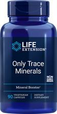 Life Extension Only Trace Minerals, 90 veg caps | Zinc, Chromium, Boron | 01328