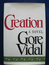 CREATION - SIGNED by GORE VIDAL on Special Page Bound In by Publisher - 1st Ed.