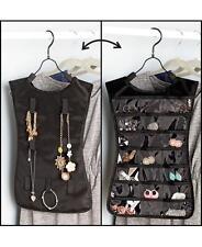 Hanging Closet Accessory Organizer ~ Jewelry Holder Travel Case Earrings Storage