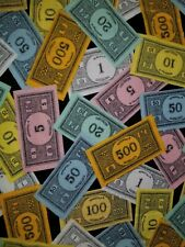 CUSTOM - HASBRO MONOPLOY MONEY BAGS GAME ROOM BLACK HAND TOWEL SET 2